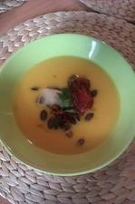 dýńová polévka