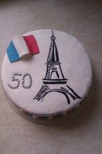 tchánovi a tchýni k 50tinám,dostali k tomu poznávací zájezd do Paříže:-)