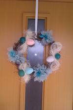 velikonoční věnec na dveře,má výroba...