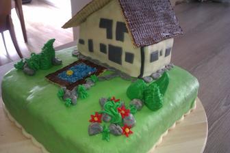 dort bratránkovi ke třicetinám,zrovna začal stavět barák,tak nějak bude jednou vypadat...