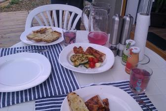 Nedělní grilovaný oběd...
