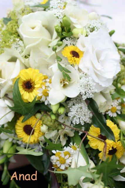 Nase pripravy, vyzdoba a rozne detaili zo svadby - kyticka