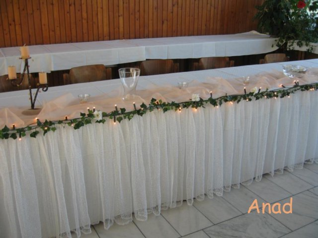 Nase pripravy, vyzdoba a rozne detaili zo svadby - * UMELY BRECTAN A SVETIELKA