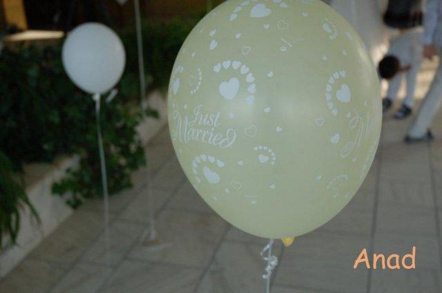 Nase pripravy, vyzdoba a rozne detaili zo svadby - baloniky