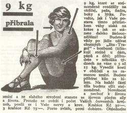 Reklama z roku 1939. Nemá chybu. Mám dojem že se tím cpu zcela nevědomky. Taky jsem ZJEV plný síly a života :-)