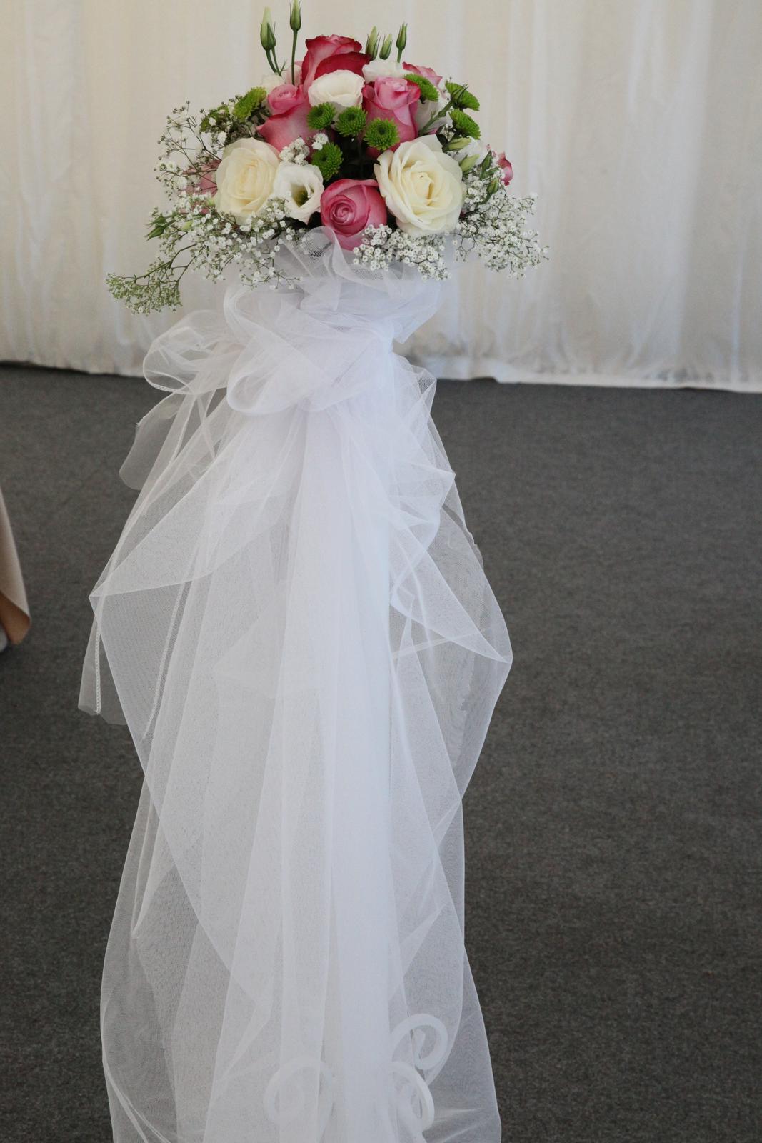 Stĺpiky na svadobný obrad - Obrázok č. 2
