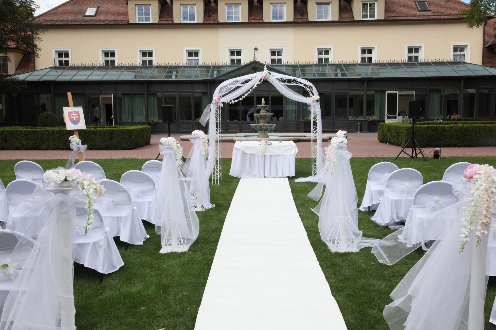 Stĺpiky na svadobný obrad - Obrázok č. 3