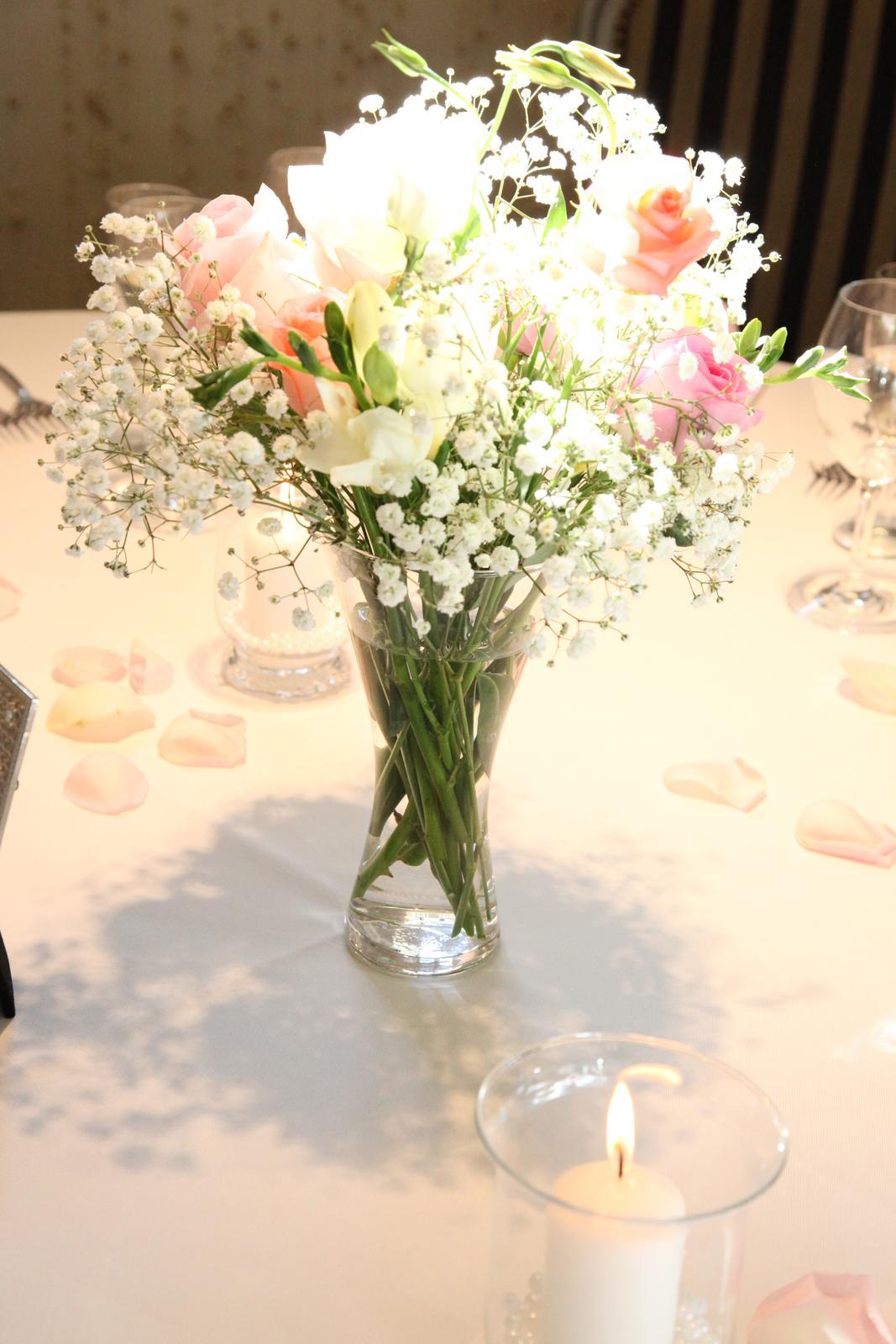 Váza na kvety - prenájom - Obrázok č. 1