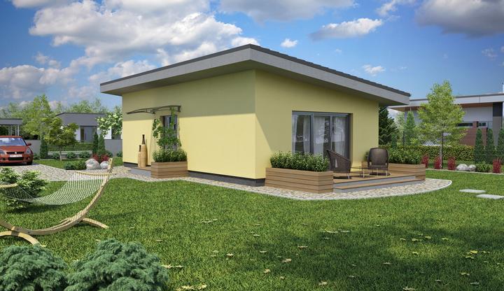 promiprojekt - Priestor využitý na maximum LAGUNA 5. Aj 50 m2 podlahovej plochy vytvorí  pohodlie.