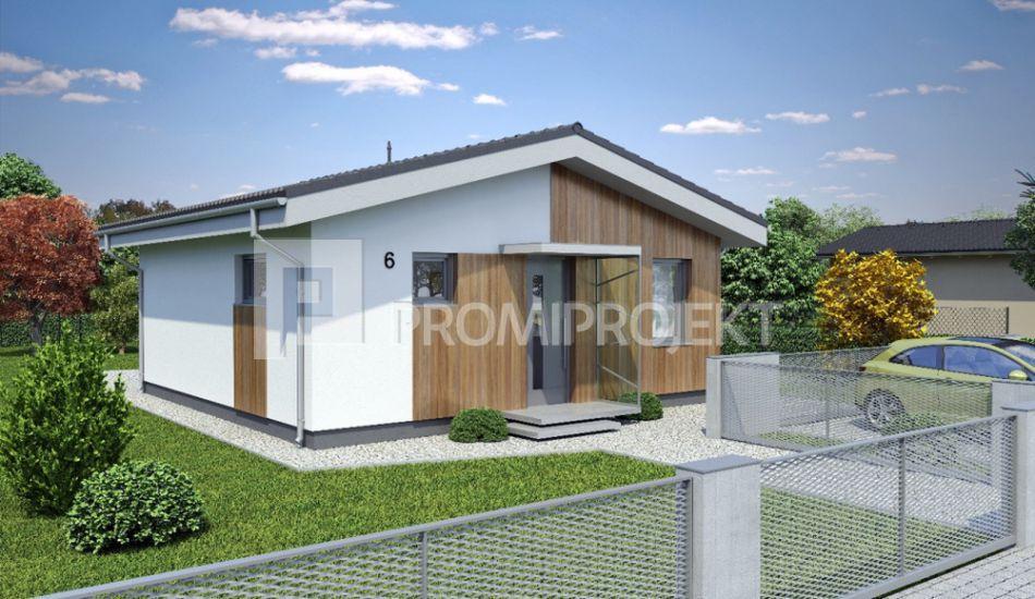 Ultranízkoenergetický prízemný rodinný dom bungalov - Laguna 6 - Laguna 6 www.promiprojekt.sk