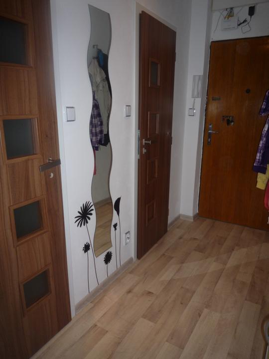 Rekonstrukce a jine.... - ...a chodba po, jen jedny dvere mame trochu jine, tak cekame na vyrizeni reklamace, nad vchodove dvere jeste prijde skrinka k zakryti kabelu.