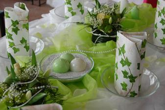 Naša svadobná farba bude zelená