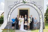 Svatební oblouk, brána ,