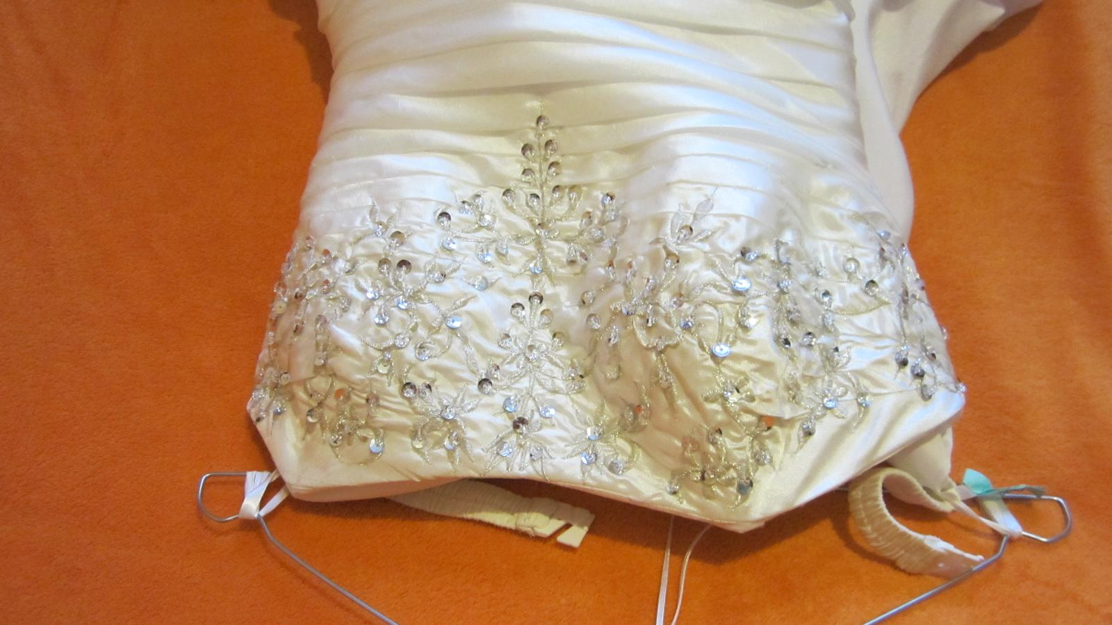 svadobné šaty 36 - Obrázok č. 2