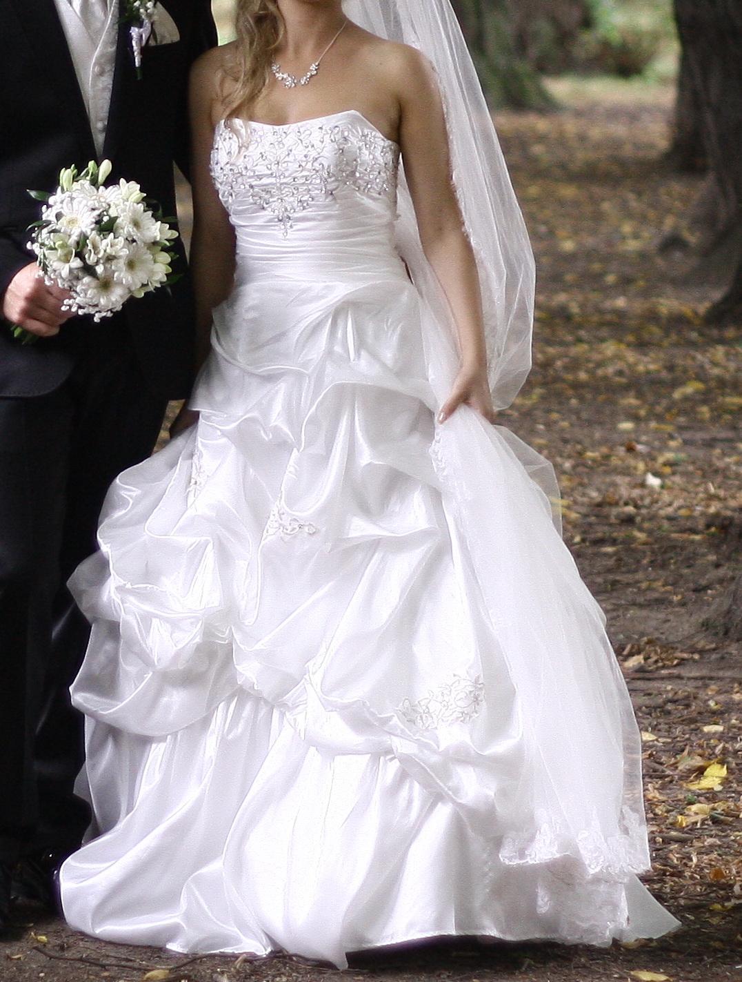 svadobné šaty 36 - Obrázok č. 4