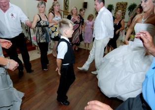 Moja laska Brunko tancoval Irske tance a bol veeeeeeeelmi dobry :)
