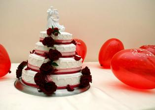 Nasa svadobna torticka bola perfektna