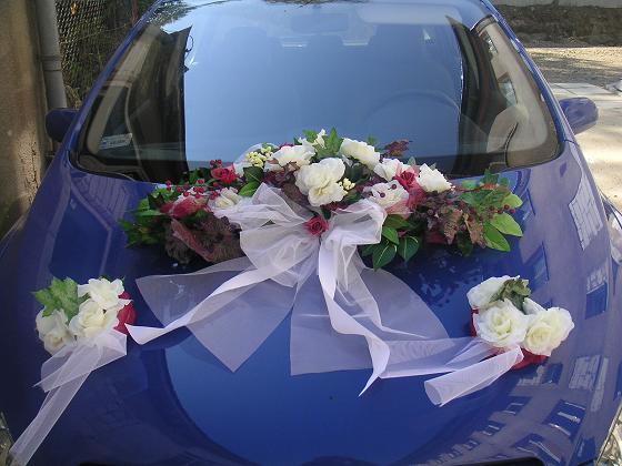 Vyzdoby svadobných  áut - Obrázok č. 29