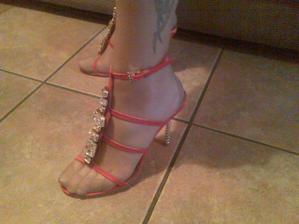Moje topanocky na redovy