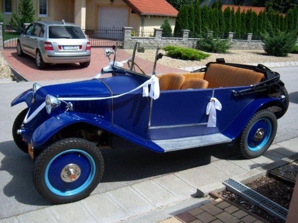Majka Farkašová{{_AND_}}Milanko Vanák - naše svadobné autíčko - úžasná jazda na hostinu, veterán TATRA z r.1928
