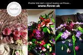 Viažeme kvete inak ako poznáte, pre každodennú aj sviatočnú príležitosť akou je svadba!