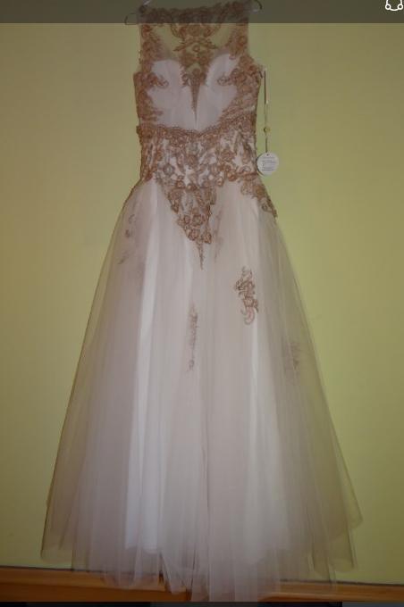 Romantické tylové šaty zdobené krajkou  - Obrázek č. 4
