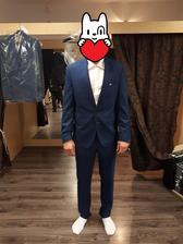 Přítelův oblek, svatební salon Caxa Olomouc