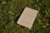 Novinka na přání - dřevěný návod k svatebnímu rámu