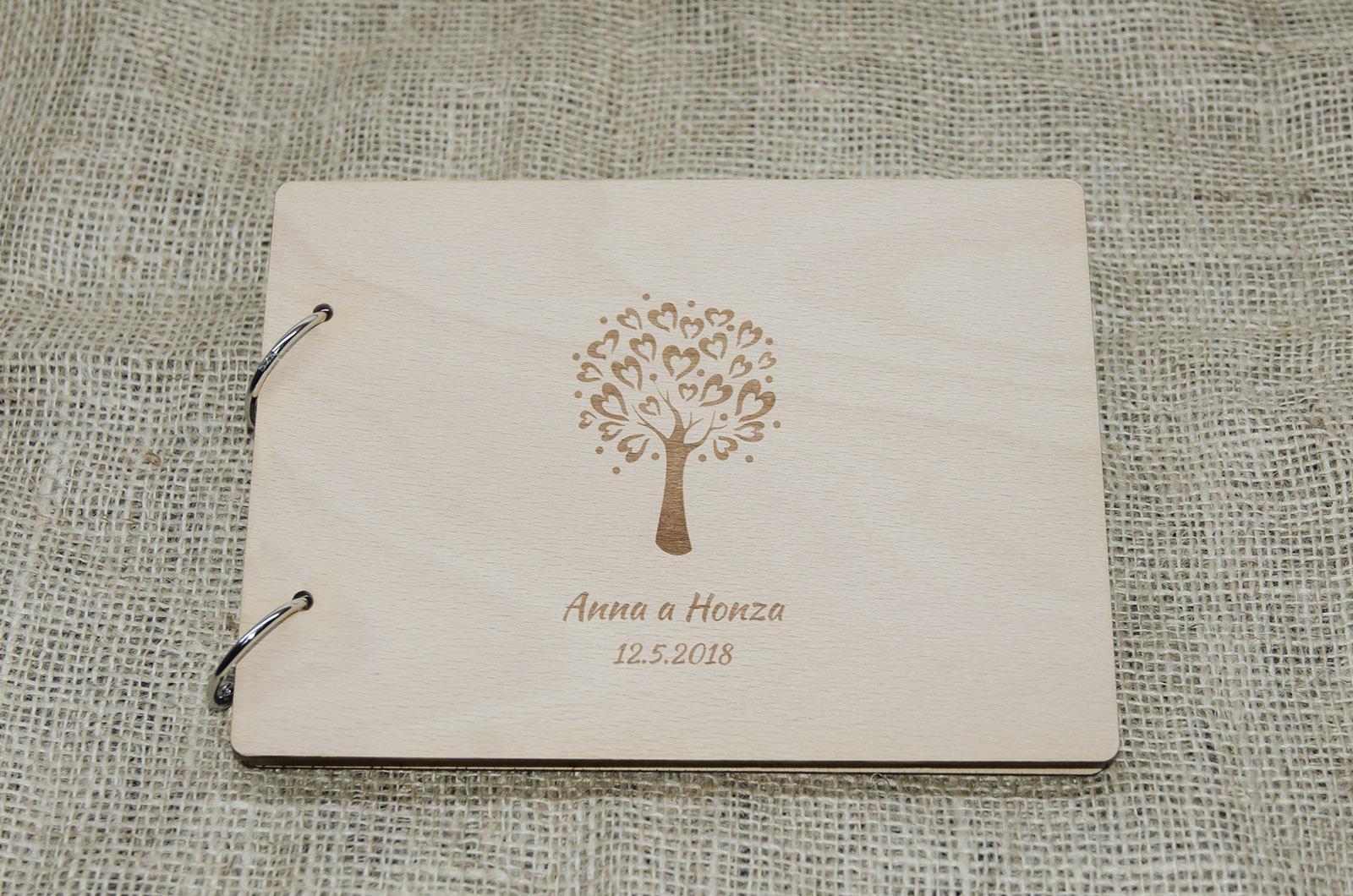 Novinka - dřevěné svatební knihy a fotoalba - Obrázek č. 3