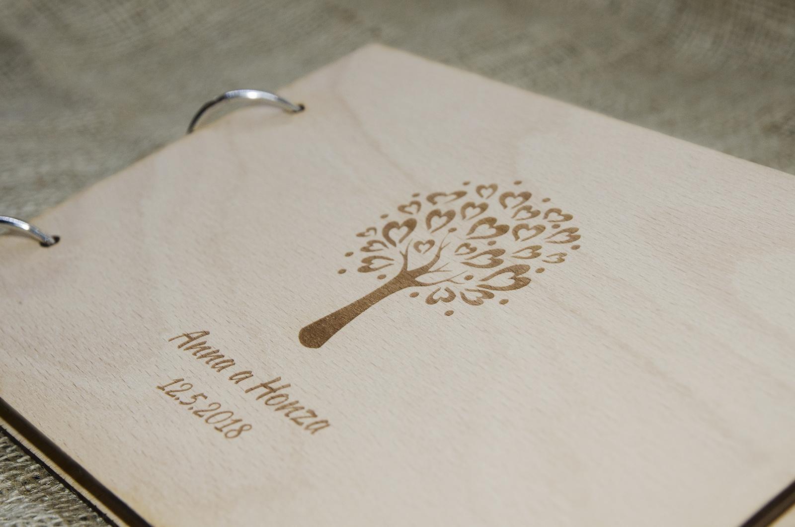 Novinka - dřevěné svatební knihy a fotoalba - Obrázek č. 6