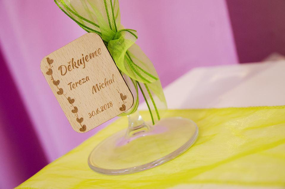 Moje práce - weddart - Svatební kolíček