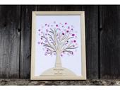 Dřevěný svatební strom,