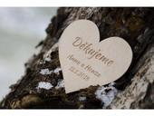 Svatební magnetka DĚKUJEME,