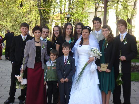 Žofia Novotná{{_AND_}}Michal Šuba - svadba  25.4.2009