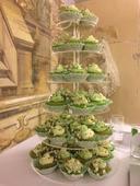Svatební cupcakes,