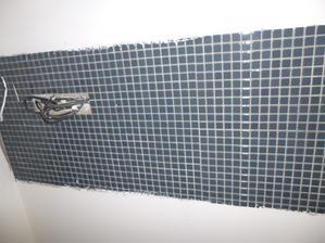 obklad, sklena mozaika v kuchyni