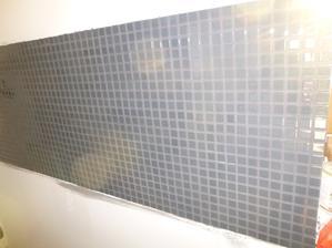 už vyšparovaná mozaika