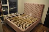 Čalúnená posteľ z kolekcie Lazio Extra 180x200, George Orchid 700, 1305