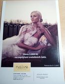 Naive- sleva 3000 Kč na půjčení sv. šatů, 36