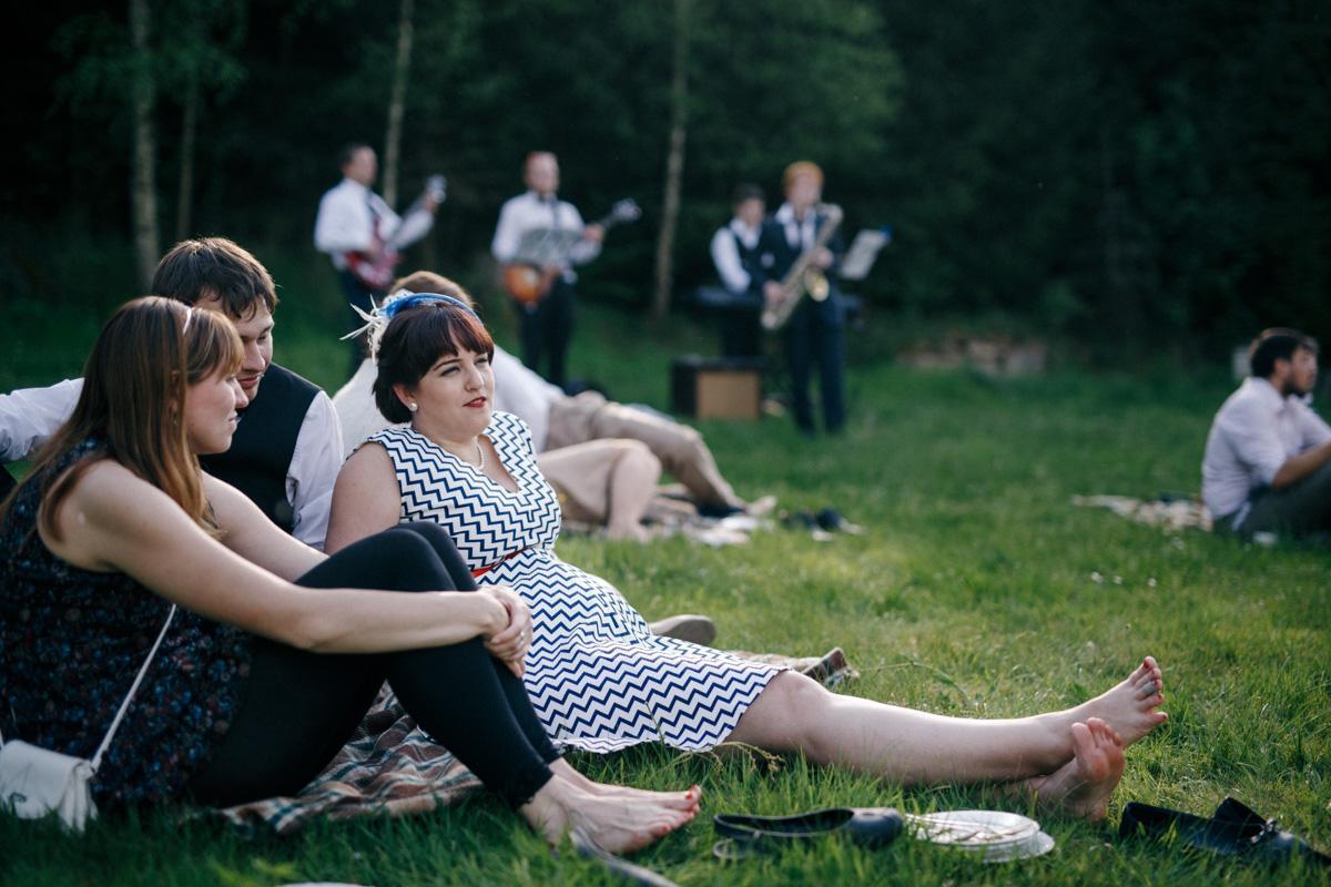 Hana{{_AND_}}Josef - Odpolední pohodový piknik s dortem a živou kapelou.