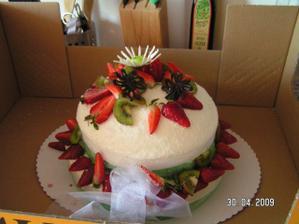 zkušební dortík
