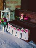 truhla na přání/svatební dary,