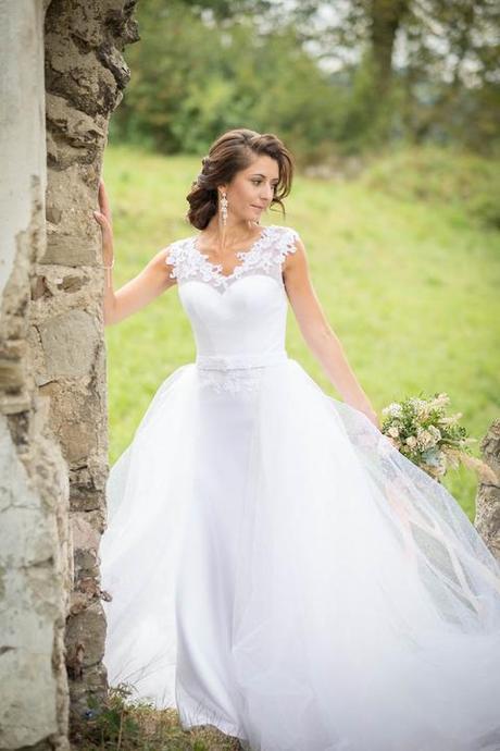 Aktuálny trend svadobné šaty 2v1s odopínacousukňou - Obrázok č. 3