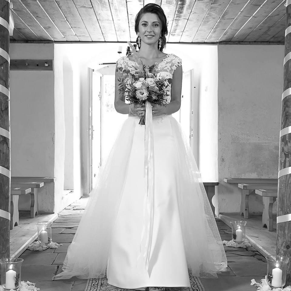 Aktuálny trend svadobné šaty 2v1s odopínacousukňou - Obrázok č. 1