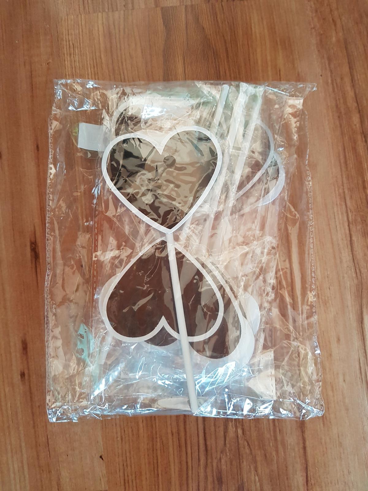 Svadobné srdcia - tabule - Obrázok č. 1