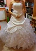Svatební šaty Liberec - nenošené, 38