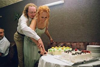 a krájení dortu
