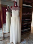 Svatební šaty z hedvábí 40-42, 42