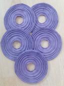 Fialové Lampinony (průměr 20 cm),