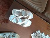 Bílé sandálky a lodičky, 41